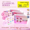 #30611 CANNI Nail Art gel system Youth series, Natural series,Elegant series,36 pure colors uv led 2in1 Gel Piant
