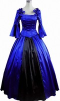 (GT005) Womens Blue Princess Dress Gothic Lolita Dress Halloween Costumes Cosplay Costume Gothic Lolita Dress Customized