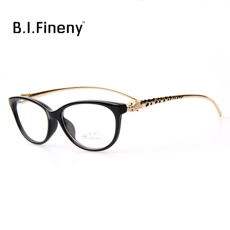 New Design Leopard Head Plain Eye glasses Men Women Optical Computer Make Myopia Eyeglasses Frame oculos de grau femininos