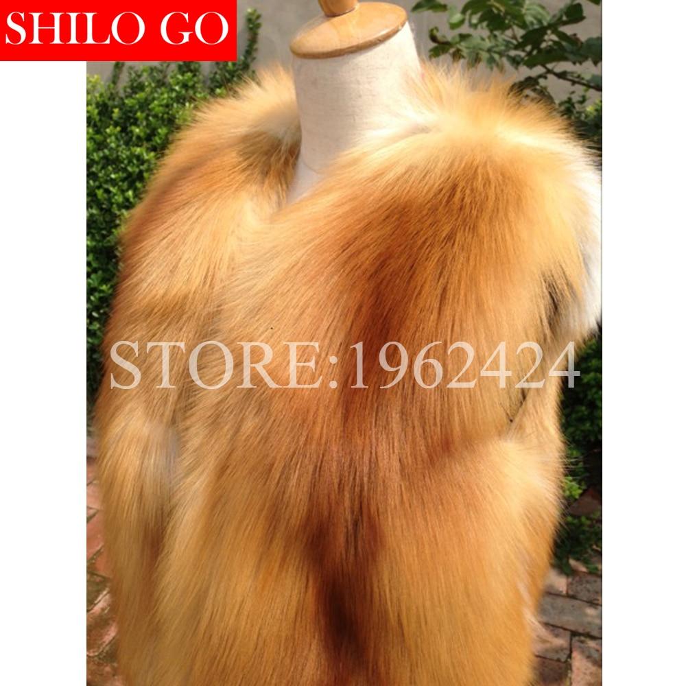 Supérieure Automne Nouvelle Rouge Qualité Taille Mode Chaud Fox Naturel Super De Couleur Hiver En Veste Renard Red Fourrure Grande Fur Femmes Longue n0Fwqfgxx