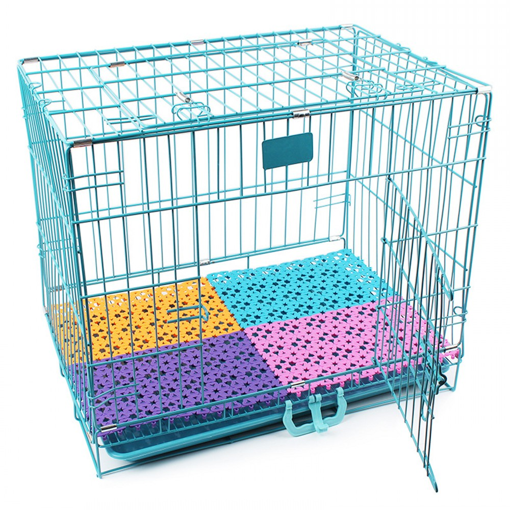 6 Color Pet Mats Breathable <font><b>Dog</b></font> Cage Mat Non-slip Fit All Animals Rabbit Cat Puppy Bed Bathroom Floor <font><b>Table</b></font> Large <font><b>Dogs</b></font> Foot Pad image