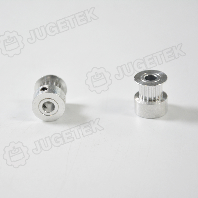 2GT Bore 5//6.35//8mm 20 Teeth Timing Pulley For Width 10mm Belt 3D Printer Parts