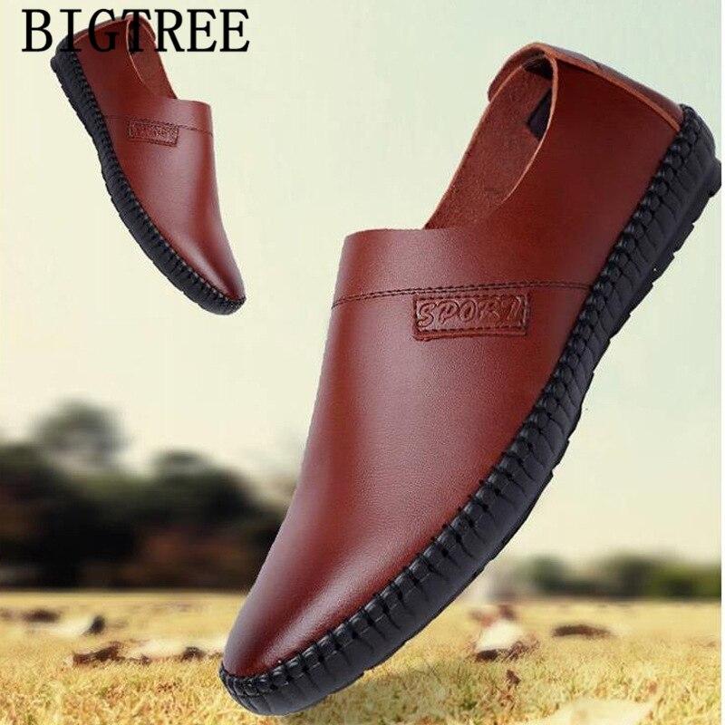 Men Shoes Luxury Brand Slip-On Designer Casual Sepatu Pria Loafers Chaussure Homme Ayakkabi