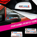 20 х Новый Дизайн Вид Сзади Автомобиля Стикеры Украшения Автомобиля Наклейки Для Suzuki Swift Sport SX4 Джимми Vitara