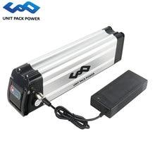 24 В 36 48 ebike посеребренный аккумулятор 10ah 15ah 18ah 20ah литиевых батарея пакет для bafang tsdz2 250 Вт 500 750 Электрический велосипед