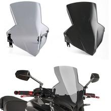 Motorcycle Racing Flyscreen CB 650 F 650F Windshield Windscreen Wind Shield Protector for 2014-2017 Honda CB650F 2016 2015 15