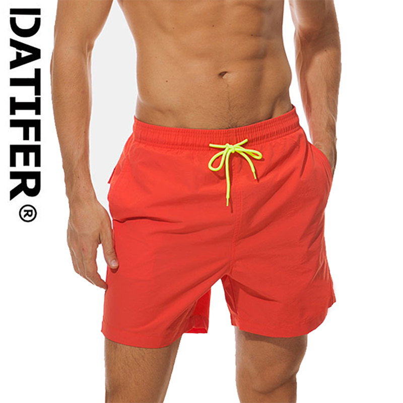 Datifer Brand Man Board Shorts Male Athletic Running Shorts Surf Swimwear Beach Short For Man Gym Shorts Size 3XL
