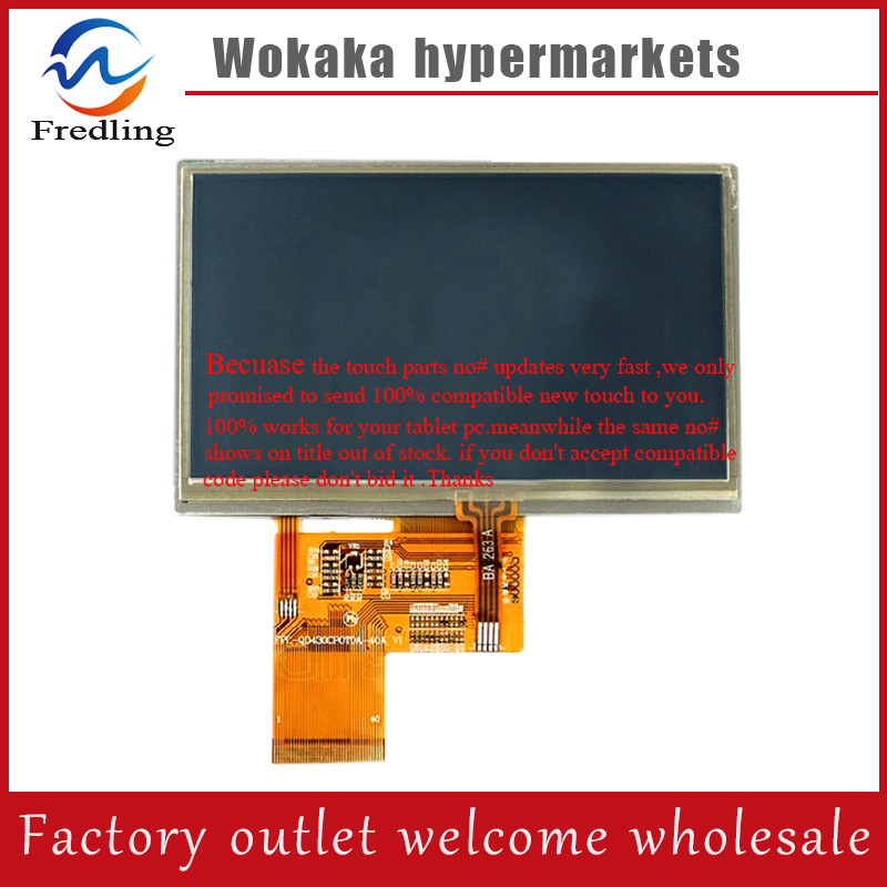 4.3 4.3inch TFT LCD LCM Display PANEL SCREEN RGB 480*272 FPC4304005 FPC4304006 FPC4304009 Noting size and color