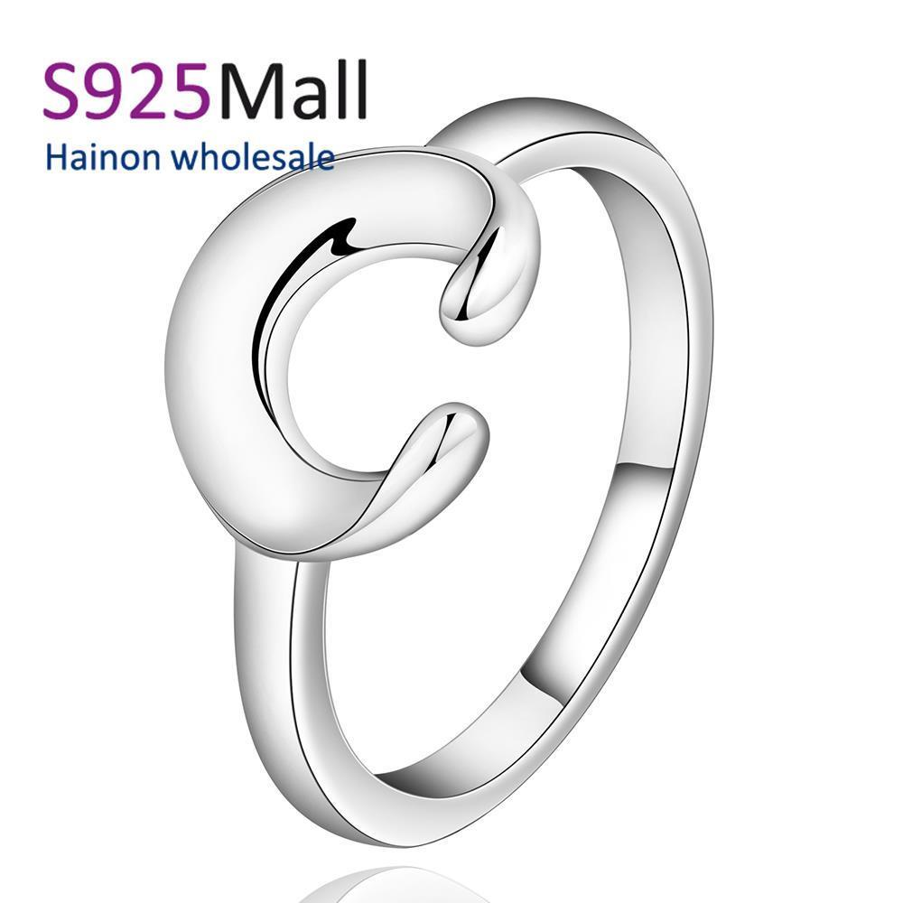 2016 bands women plated party top fashion simple hot c jewelry rings plain new finger ring