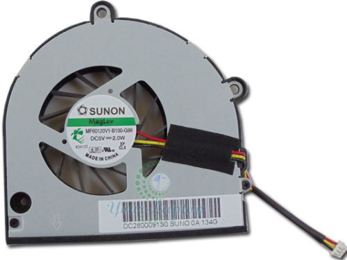 For Toshiba Satellite C655D-S5332 CPU Fan