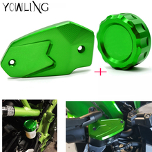 Z900 motorcycle accessories Rear brake reservoir cover caps Cylinder Reservoir Cover For Kawasaki 2017 z800 2013 -2016