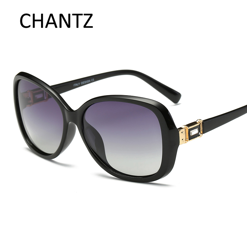 Top Qualität Runde Frauen Sonnenbrille Luxusmarke Design - Bekleidungszubehör