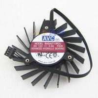 Marke neue original AVC BASA0710R2U Quadro Q4000 2 GB grafikkarte fan|Lüfter & Kühlung|   -