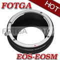 Adaptador de montagem Fotga para Canon EOS EF/EF-S monte Lens para Canon EF-EOS M mirrorless camera