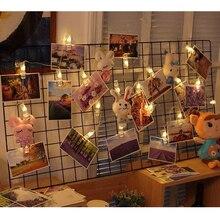 Персонализированные Свадебные украшения Звездное держатель фото Батарея строки Книга номер Декор Клип окна Рождество центральные