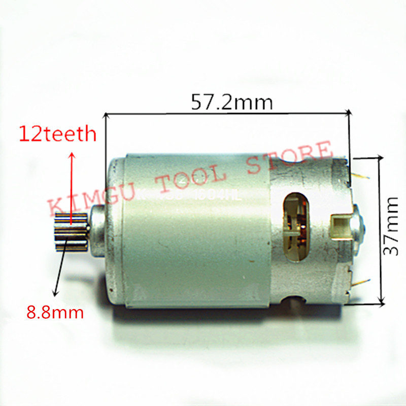 12 Teeth Motor DC 12V  Replacement  for MOSTA   RS-550VC-8022  LT10SB2 LT10BH2 MAKITA Cordless Drill spülbecken sieb