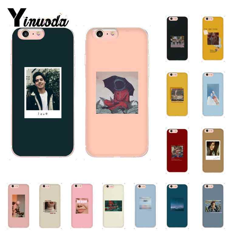 Yinuoda Jughead Riverdale Funny Spoof Art TPU Soft Silicone Phone Case for iPhone 8 7 6 6S Plus X XS MAX 5 5S SE XR 10 Cover