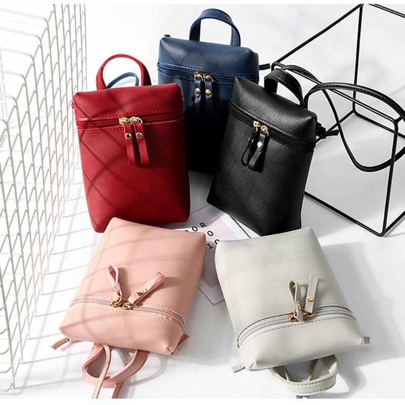 c6758efa7b5d UKQLING Small Women Bag Mini Phone Bag Crossbody Bag Sling Shoulder  Messenger Bag Lady Clutch Purse Drop Shipping NEW 2018-in Top-Handle Bags  from Luggage ...
