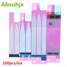 Absuhjx 100pcs Battery Sticker for iPhone 6 6S Plus 7 7P 3M Adhesive Double Tape Pull Trip Grue for iPhone 8 X 8P 5S 5C(China)