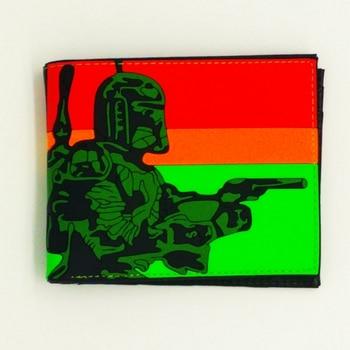 New Silica Gel star war wallet cion wallets with zipper pocket marvel cartoon superman children purse gift free shipping Kids Wallets