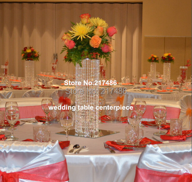 Wedding Decorative Crystal Table Centerpieces For Weddings In Glow Party  Supplies From Home U0026 Garden On Aliexpress.com | Alibaba Group
