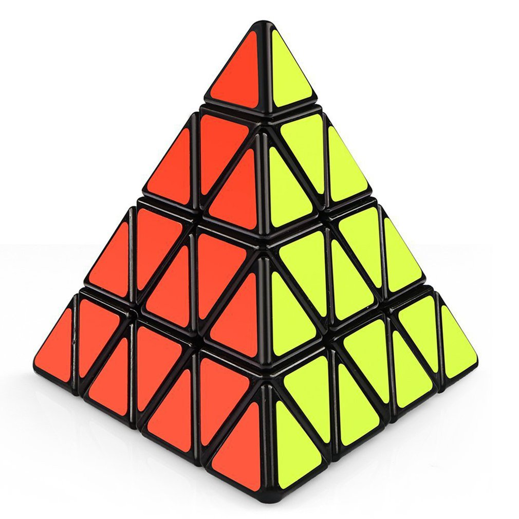 OCDAY Pyramid Third-order Magic cube Puzzle-Shaped Triangle Cubes Rubiks Cube Puzzle Educational Toys for children new sale hot ocday special toys 12 side megaminx magic cube puzzle speed cubes educational toy new sale