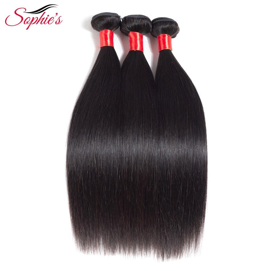 Sophie's Hair Hair Bundles Peruvian Straight Hair Weaves Sy i - Skönhet och hälsa - Foto 2
