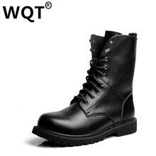 Большой Размер 35-49 Любителей Моды Мартин Сапоги Из Натуральной Кожи Обувь Мужчин Черный Botas Mujer Ковбой Мотоциклов Сапоги Мужчины повседневная Обувь