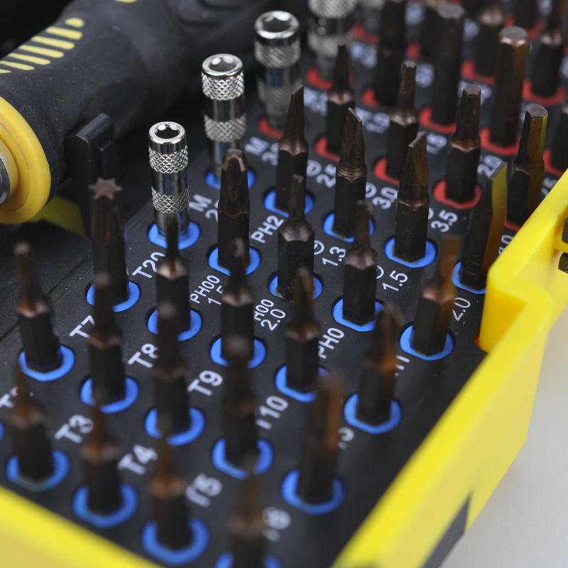 Juego de destornilladores de precisión multiusos magnéticos - Herramientas manuales - foto 2
