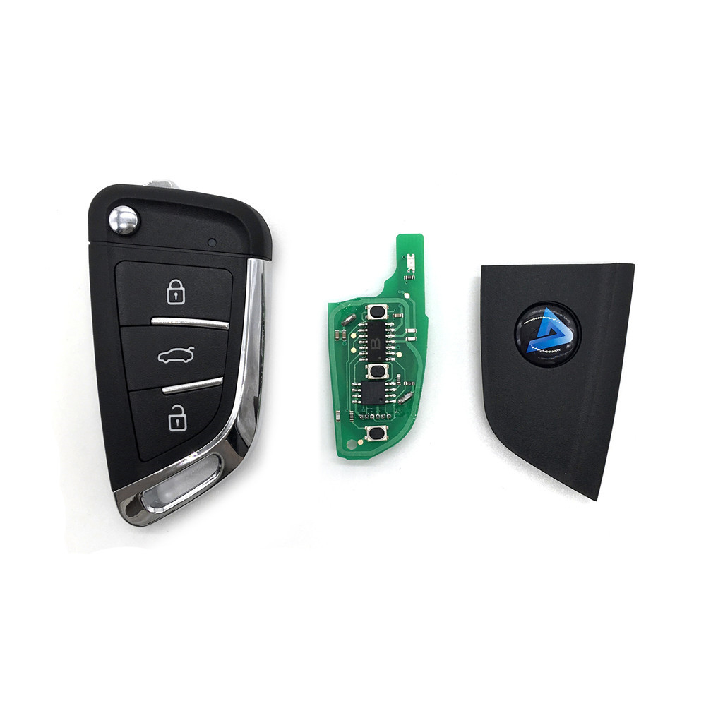 Image 4 - Free Shipping ( 5pcs/LOT ) NEW model  KD900 KD900+ URG200 KD X2 Key Generator B Series Remote  B29 3 button Universal KD Remote-in Sensor & Detector from Security & Protection