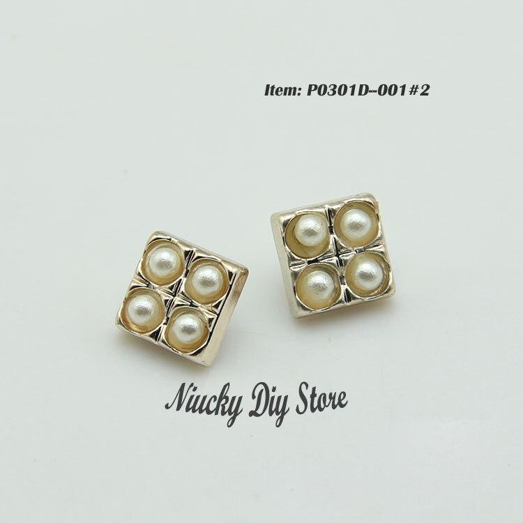 33c13eb96048 10mm botones de alta calidad arena oro al final de la perla botones de  plástico y artesanía Accesorios