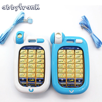 Mini Toys Phone Muslim Quran Coran Surah Light Learning Machines 18 Section Koran Learning Education Toys