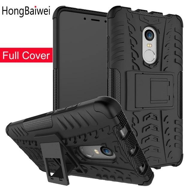 Case untuk Xiao Mi Merah MI 5 Plus 4X 5A Mi A1 Shockproof Tpu Pc Ponsel Stand Phone Case Xio mi Merah MI CATATAN 4X 4Pro Catatan 5A 5Pro 4 Meliputi