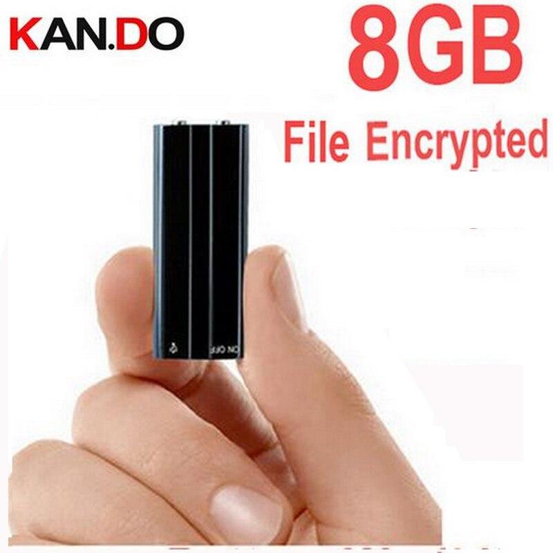 x20 8GB Reproductor de MP3 + cifrado de archivos soporte de disco - Audio y video portátil
