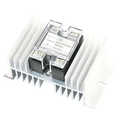 4-20mA to AC 28-280V 40A Current Control Single Phase Heatsink Solid State Relay high quality ac ac 80 250v 24 380v 60a 4 screw terminal 1 phase solid state relay w heatsink