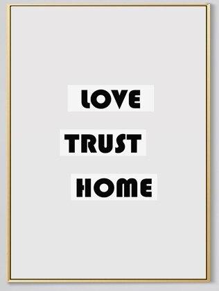 Rusa Nordic Dekorasi Rumah Sederhana Kanvas Lukisan Abstrak Hitam Dan Putih Wall Art Kartun Gambar Untuk Ruang Tamu Ada Bingkai Picture For Living Room Canvas Painting Abstractcanvas Painting Aliexpress