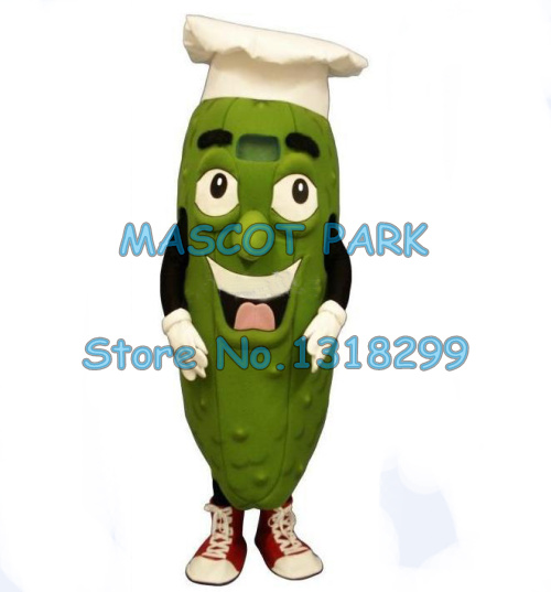 the famous pickle chef mascot costume adult size free ship cartoon pickle vegetables theme cosplay costumes carnival fancy dress toy story costumes adult
