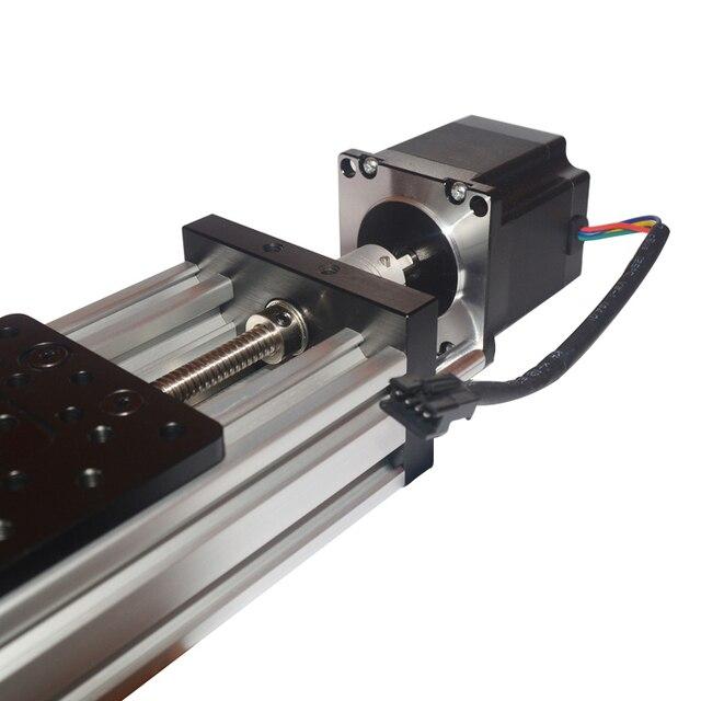 Table coulissante 300mm T8 vis nema23 moteur pas à pas actionneur linéaire faisceau 2mm 4mm 8mm