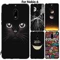 EiiMoo Phone Case For Nokia 6 Cover Silicone Capa Coque For Nokia 6 Back Cover Cute Cartoon Soft TPU For Nokia6 Case 2017 64GB
