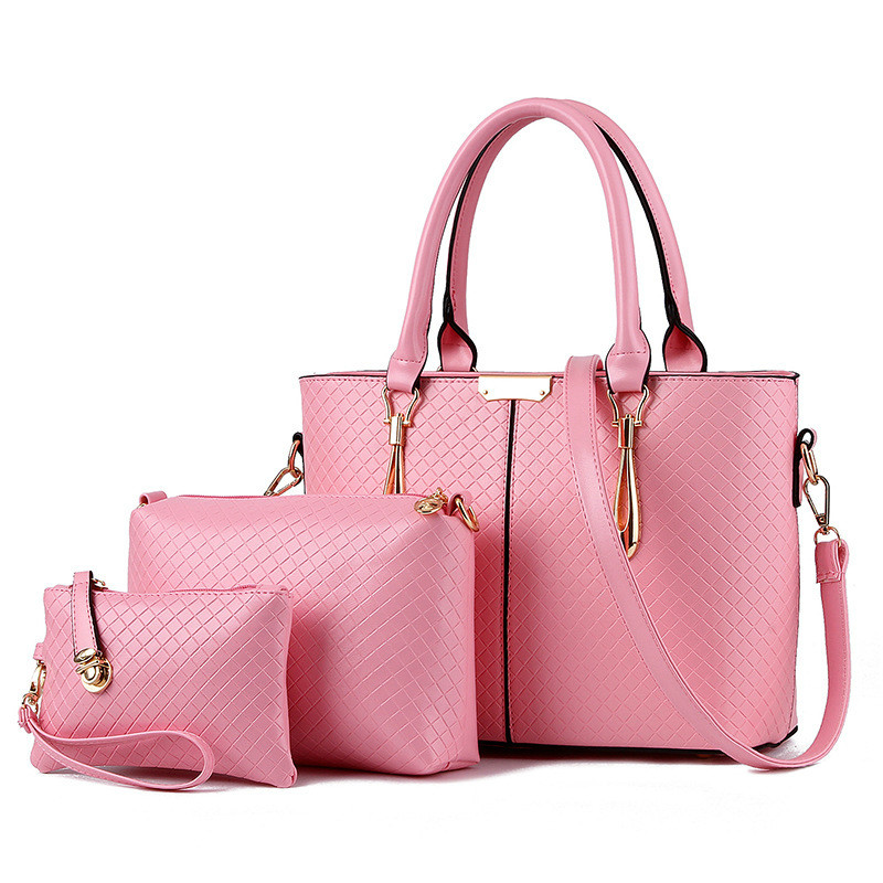 MONNET CAUTHY Female Tote Bags Concise Fashion Office Lady Handbags Candy Color Sky Blue Pink Lavender White Black Composite Bag monnet cauthy female bags concise leisure newest fashion travel girls style messenger bag solid color black white pink red flap