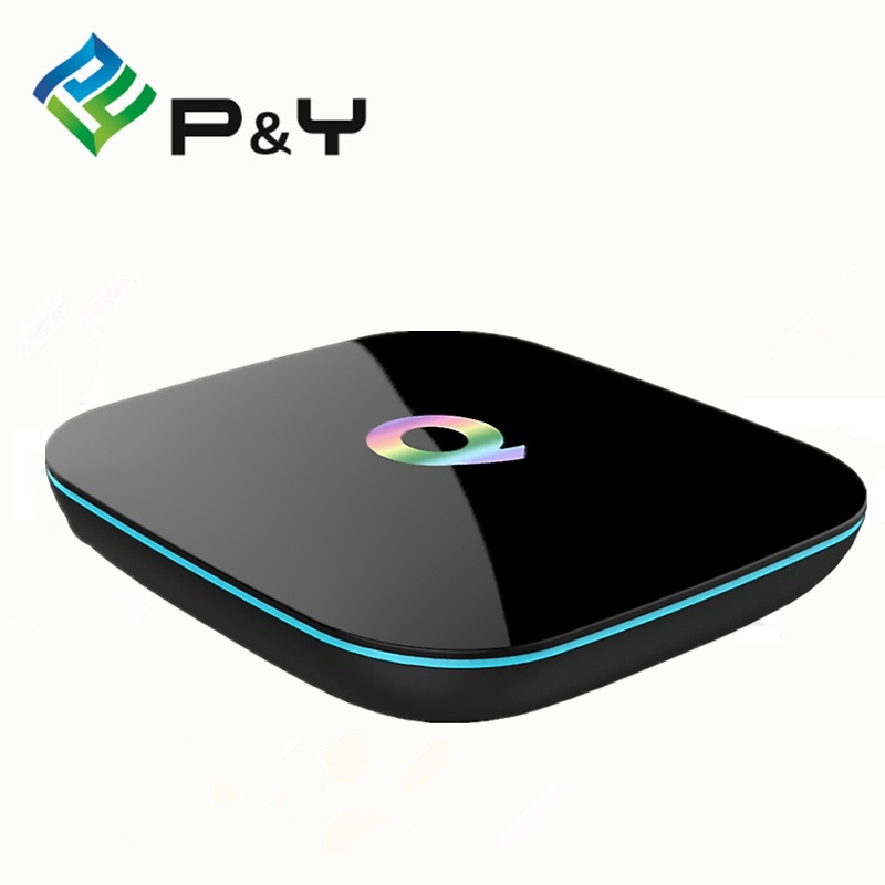 20pcs TV Box Qbox Amlogic S905X Quad Core OS Android 5.1 Dual Band Wifi 2.4G and 5G Preinstall 16.0 Support BT 4.0 m8 fully loaded xbmc amlogic s802 android tv box quad core 2g 8g mali450 4k 2 4g 5g dual wifi pre installed apk add ons