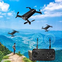 2019 new exotic folding drone four-axis aircraft mini with HD wifi camera shaped remote control 720P aerial photography