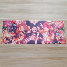 Anime one piece mouse pad Notbook Computer Mousepad Custom mouse mat