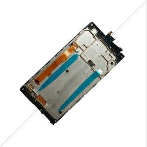 Image 2 - Aicsrad 5.0 lcd 용 lenovo p70 디스플레이 터치 스크린 용 프레임 교체 용 lenovo p70 lcd 디스플레이 P70 A p70a black whtie