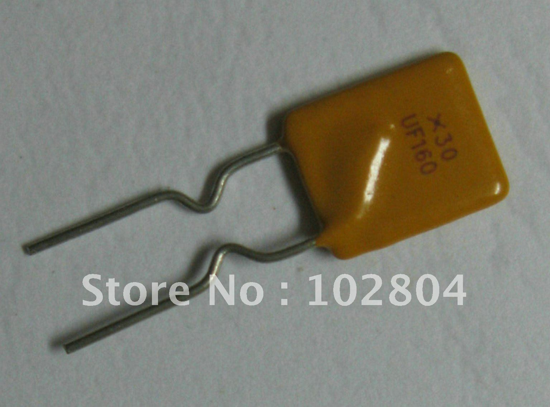 50 шт. 30 в 1.6A PolySwitch радиальный этилированный восстанавливаемый предохранитель PPTC