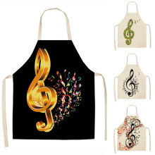 Musical Note Cute Kitchen Aprons