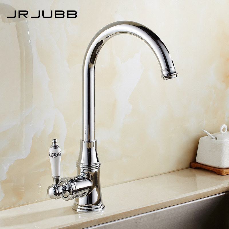 US $58.38 22% OFF|Chrome Brass Kitchen Faucet Kitchen Sink Faucet Swan  Kitchen Mixer 360 swivel Kitchen Sink Tap-in Kitchen Faucets from Home ...