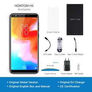 Image 5 - Originele Global Versie Homtom H5 3Gb Ram 32Gb Rom Quad Core Mobiele Telefoon 5.7 Inch Gps Vingerafdruk Gezicht id 4G FDD LTE Smartphone