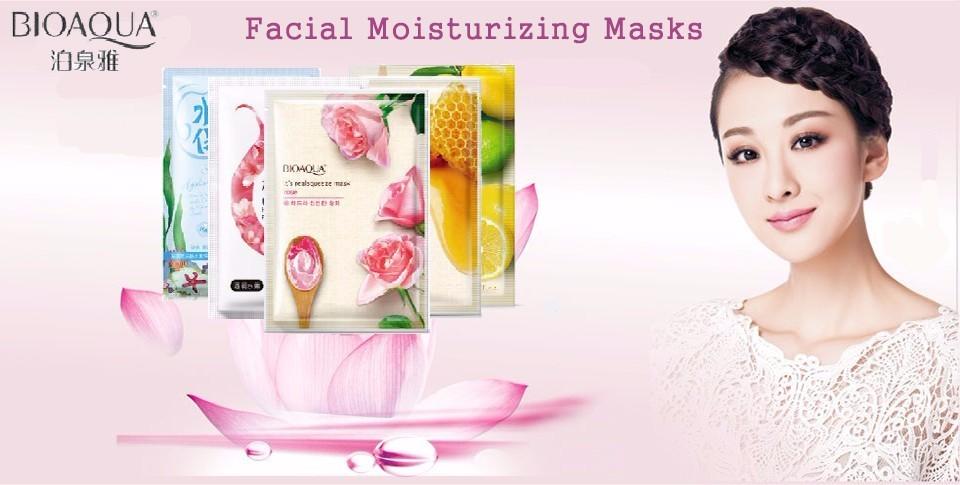 BIOAQUA Egg Facial Masks Oil Control Brighten Wrapped Mask Tender Moisturizing Face Mask  Skin Care moisturizing mask 1