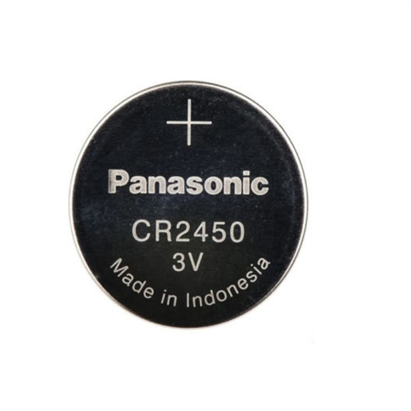 Новые оригинальные Литиевые Батарейки Panasonic CR2450 CR 2450 3 в для часов с монетницей, брелоками для ключей, аккумуляторы для часы swatch для автомоби...